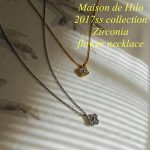 Maison de Hilo 2017ss Necklace Collection